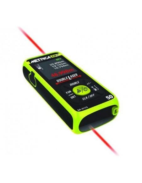 Metrica distanziometro laser 50 mt. Flash double 50