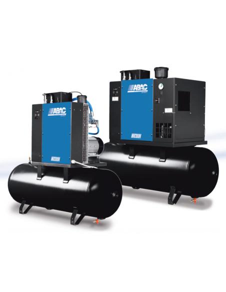 ABAC Compressore rotativo a vite MICRON 3 KW- 200 litri - 400V