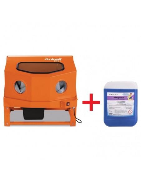 Promo Cabina lavapezzi Unicraft 6220001 TWG 1 + Detergente Universale 10 LT 7321910