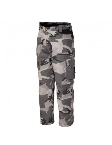 Pantaloni da lavoro Industrial Starter Zip Mimetico 8029NB