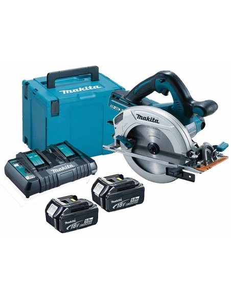 Makita DHS710PT2J  Sega Circolare a Batteria 36V - 2 Batterie 5Ah