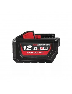 BATTERIA M18™ 12.0 AH HIGH OUTPUT™ 4932464260 MILWAUKEE