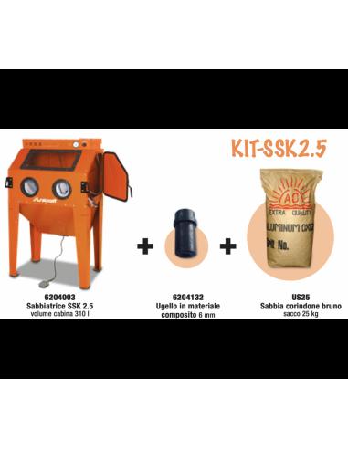 Promo KIT SSK2.5 Sabbiatrice 6204003...