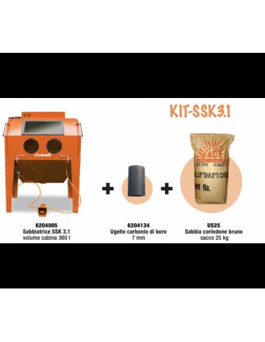 Promo KIT SSK3.1 Sabbiatrice 6204005...