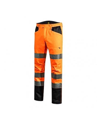 Diadora pantalone da lavoro arancione...