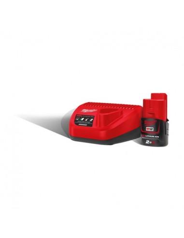 Milwaukee kit batteria M12 NRG-201