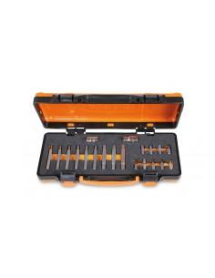 Assortimento di 18 inserti con impronta RIBE® con attacco esagonale 10 mm e 2 accessori in termoformato morbido e cas 008670920