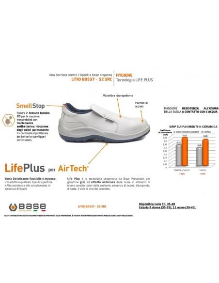 Scarpa antinfortunistica Hygiene B0537 LITIO Base Protection