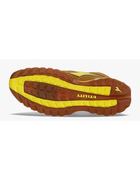 Scarpe antinfortunistiche Diadora Glove II S3 alte color cammello