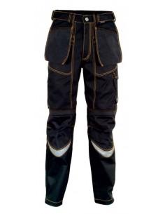 Pantalone da lavoro Cofra Carpenter Estivo color nero/nero