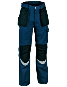 Pantalone da lavoro Cofra Carpenter Estivo color navy/nero