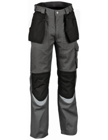 Pantalone da lavoro Cofra Carpenter Estivo color antracite/nero