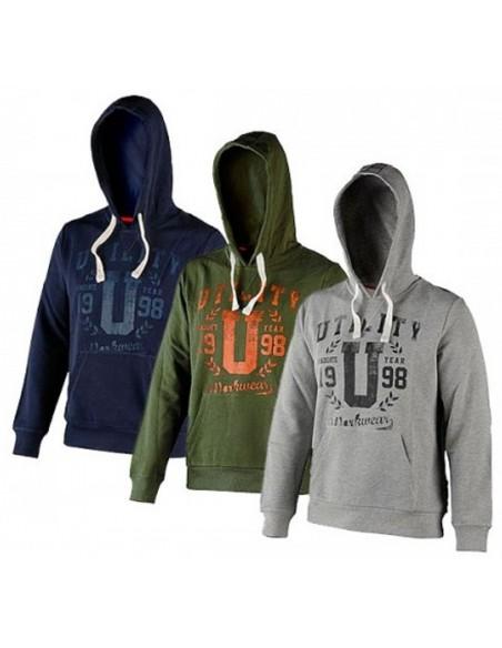 Felpa da lavoro Diadora Utility Sweatshirt Hood Graphic