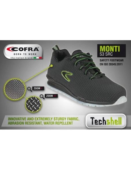 Scarpe antinfortunistiche Cofra Monti S3 SRC