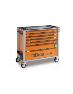 Carrello portautensili antiribaltamento Beta C24SA-XL 7, 8 o 9 cassetti