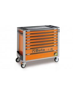 Beta Carrello portautensili antiribaltamento C24SA-XL 8 cassetti