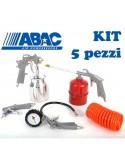 KIT 5 accessori pneumatici Abac per compressore aria 8973005189