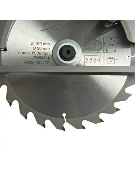 SEGA CIRCOLARE M18 CCS66 - 502B FUEL BATTERIE 5AH