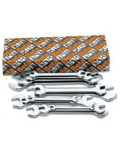 Serie di 12 chiavi a forchetta doppie 55/S