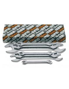 Serie di 8 chiavi a forchetta doppie 55AS/S
