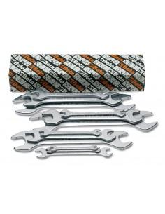 Serie di 12 chiavi a forchetta doppie 55AS/S