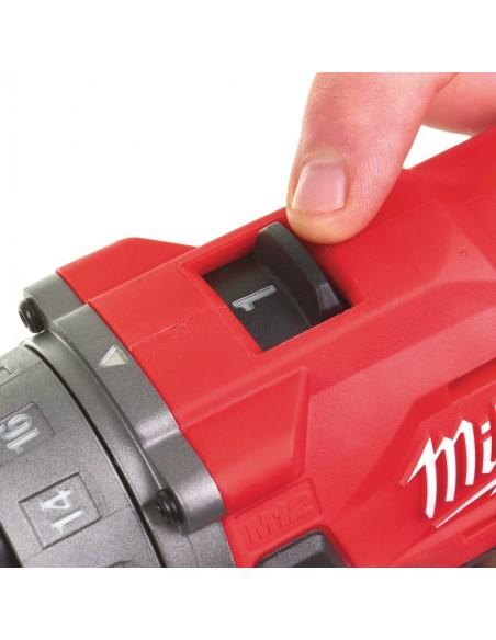 Trapano a percussione compatto M12 FPD 202X Milwaukee a 2 velocità