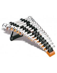 Serie di 15 chiavi combinate con supporto 42/SP15