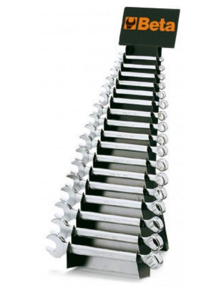 Serie di 25 chiavi combinate con supporto 42/SP25