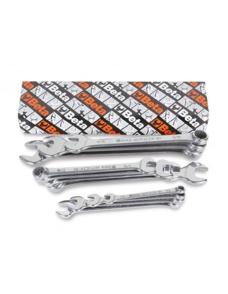 Serie di chiavi combinate inossidabili 42INOX/S