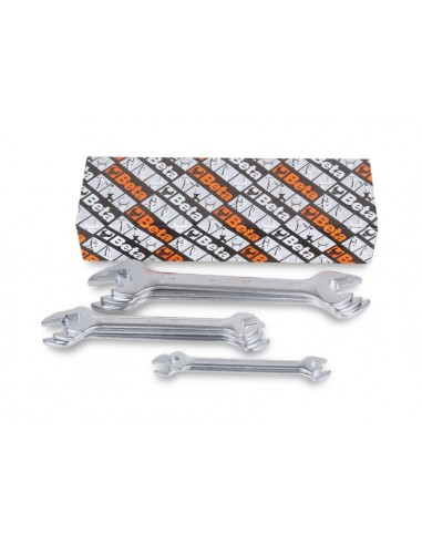 Serie di 8 chiavi a forchetta doppie 55/S