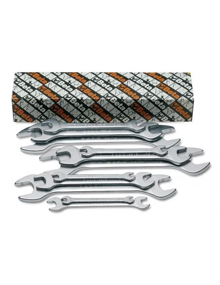 Serie di 5 chiavi a forchetta doppie 55AS/S