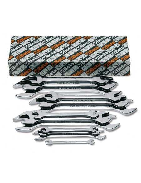 Serie di 8 chiavi a forchetta doppie 55MP/S
