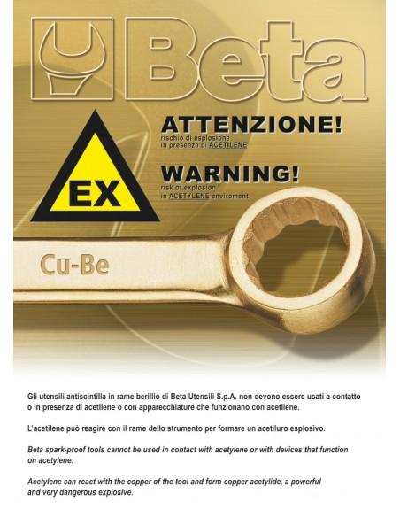 Chiaviaforchettasempliciapercussione antiscintilla 58BA
