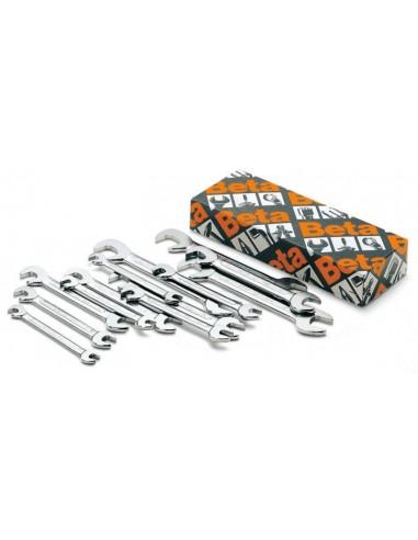 Serie di 13 chiavi a forchetta doppie 73/S