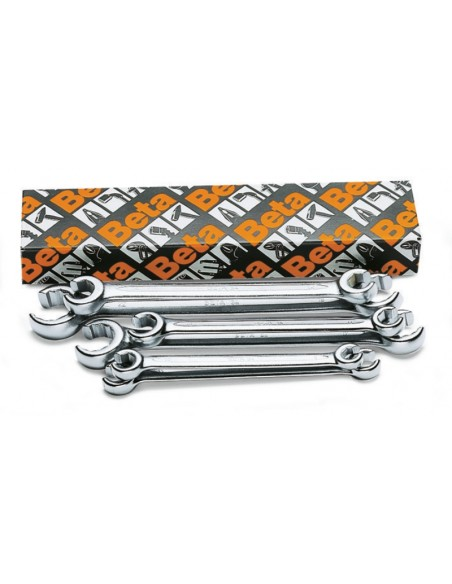 Serie di 6 chiavi per raccordi tubi (art. 94) 94/S