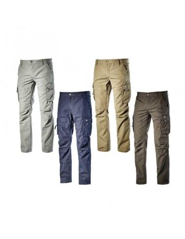 Pantaloni da lavoro estivi 100% cotone WIN II Diadora Utility
