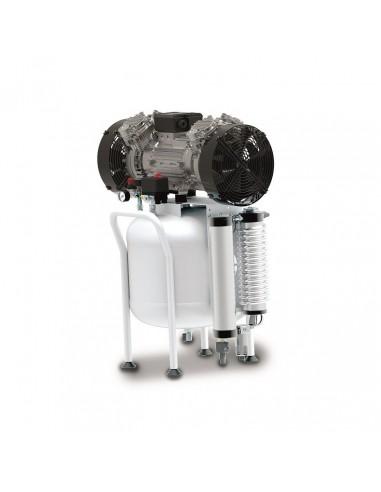 Compressore medicale 50 lt Abac CLR 25/50 T