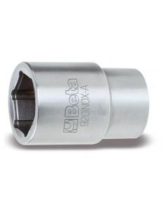 """Chiavi a bussola con attacco quadro femmina 1/2"""" bocca esagonale, in acciaio inossidabile 920INOX-A"""