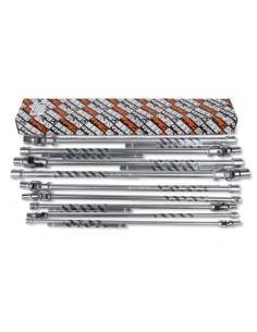 Serie di 9 chiavi a T con bussola snodata per viti con testa a profilo Torx® (art. 952FTX) 952FTX/S