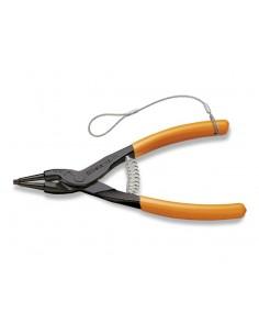 Pinze a becchi diritti per anelli elastici di sicurezza per alberi manici ricoperti in PVC H-SAFE 1036HS