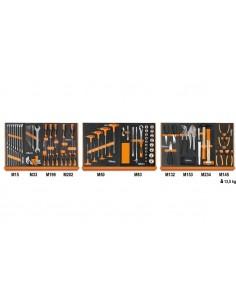 Assortimento Beta di 91 utensili in termoformato morbido 5904U/MP +Tuta da lavoro in omaggio