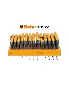 Espositore da parete con 80 giravite 1203/E10P