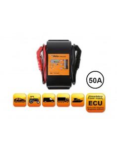 Caricabatterie elettronico 12V multifunzione 1498/50A