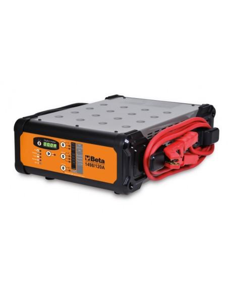 Caricabatterieelettronico 12V multifunzione 1498/120A