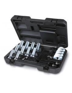 Assortimento utensili per l'estrazione e l'introduzione di silent block, paraoli e cuscinetti ruota 1569/B