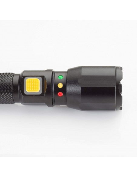 Torcia portatile 120 lumen a Led con batteria ricaricabile USB CAT CT2105