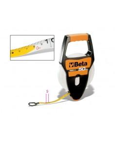 Rotelle metriche con impugnatura cassa in ABS antiurto nastro in fibra di vetro ricoperto in PVC  1694A/L