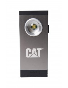Torcia LED riflettore tascabile a batteria con clip per cintura 250 lm CAT CT5110