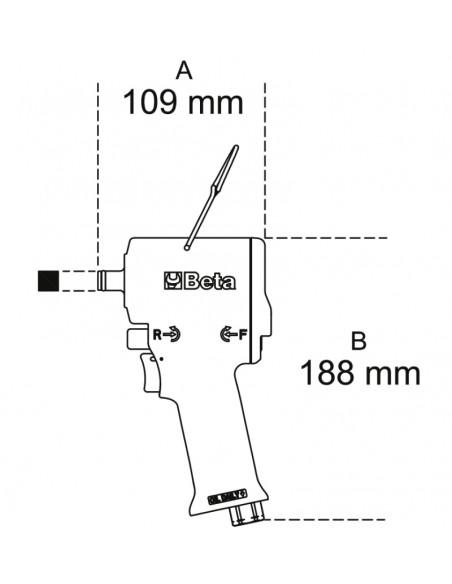 Avvitatore reversibile compatto 1927XM