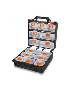 Valigia organizer con 12 vaschette asportabili, vuota 2080/V12